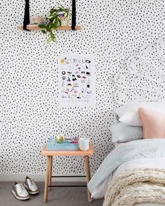 Such a pretty girls room by Michelle from Bask Interiors for Adore Home Magazine with our Soft Pink Luca Cushion Eadie www.eadielifestyle.com.au
