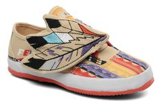 2a228ce384b FE LO KID PLAIN x MILK ON THE ROCKS by Feiyue (Multicolor) | Sarenza