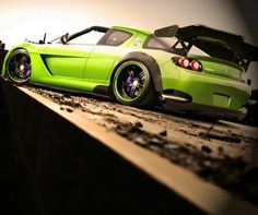The Modified Green Targra RX8! Awesome! Check it out: http://www.ebay.com/itm/185-Modified-Cars-RX8-TARGA-Luxury-Racers-36-x24-Poster-/251264634407?pt=Art_Posters&hash=item3a808a0e27?roken2=ta.p3hwzkq71.bdream-cars