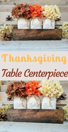Farmhouse Fall Centerpiece, Thanksgiving Decor, Fall Decor #affiliate
