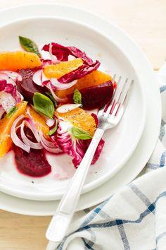 Winter Salad by oggipanesalamedomani #Salad #Orange #Beet #Healthy