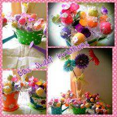 Cake pops in summer