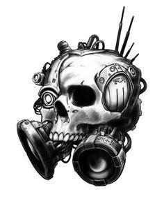 Servo-skull - Necromunda - Warhammer 40K - GW [by cronevald]