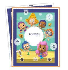 bubble guppies frame