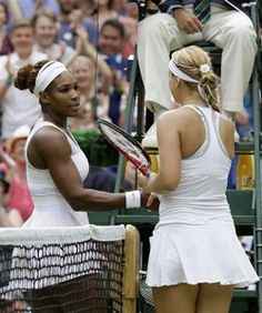 Serena Williams ousted from Wimbledon by Sabine Lisicki. #Wimbeldon #tennis