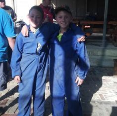 Beste tjommies - paintball party 2014