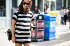 Stripes Shift Mini