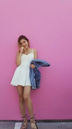 Asia Girl, Girl Model, Best Part Of Me, How To Look Pretty, Cool Girl, Strapless Dress, The Unit, Summer Dresses, Female