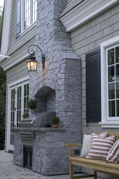 Stunning Grill - Hearth                                                     ~Life 'A L F R E S C O #OutsideFireplaceGrill