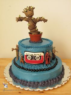 Coolest Baby Groot Cake... Coolest Birthday Cake Ideas