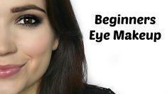 Beginners Eye Makeup (Classic Smokey Eye and Classic Smokey Crease)