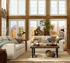 Rustic Living design design ideas decorating before and after room design interior design Barn Living, Home Living Room, Living Room Designs, Living Room Decor, Living Area, Small Living, Decor Room, Cozy Living, Living Spaces