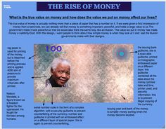The rise of money poster