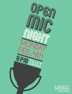 Event Posters by Lauren Hill, via Behance