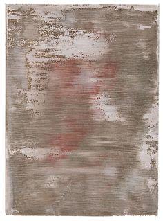 AZ # 203 - Tony Saunders (2015) acrylic on paper, 7″ x 5″