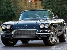1961 Corvette- very cool car!