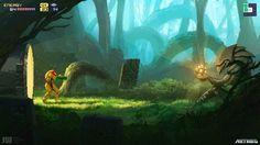 Lo jugarías? #fanart de #metroid por Robin Wouters. #samus #nintendo #gaming #gamers