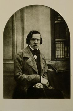 Louis-Auguste Bisson - Frederic Chopin in 1849