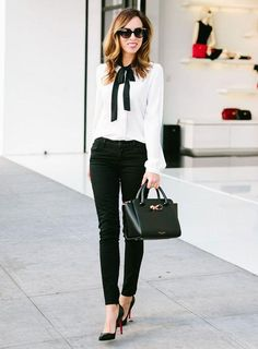Camisa blanca siempre triunfa y todo combina perfecto
