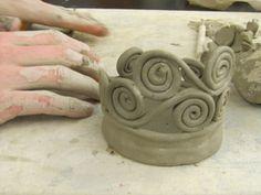 Coil Pots in progress - NAEA Secondary Teachers