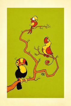 Jonatan Iversen-Ejve - Parrots