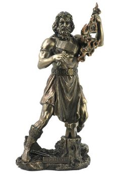 Hephaestus Greek God Statue Mythology Warrior Pagan Altar Icon