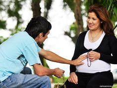 Consagre a Deus a sua gestação e o seu bêbe desde o ventre materno.
