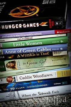 Summer Reading List for a girl going into 6th grade--just beginning middle school.