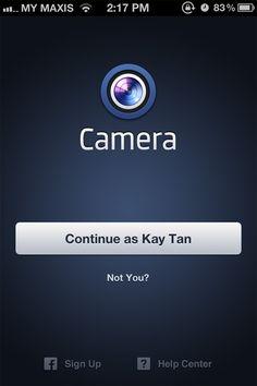 Bir Bakış: Into iPhone için Facebook Camera App