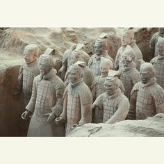 Mausoleum of the First Qin Emperor commonly known as the Terracotta Warriors Xi'an China Orient Express the Silk Road by train once a lifetime trip with adventure and exclusivity 12 days from Beijing to Urumqi Departs 2015 September 7th and 14th  #youlantours #travel #china #beijing #xian #shaolin #jiayuguan #dunhuang #turpan #urumqi #travelbytrain