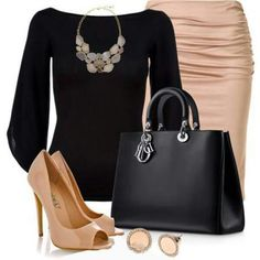 Classy and elegant outfit for work