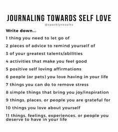 ✨✨✨ - Journaling towards self-love - Journal Questions, Positive Self Affirmations, Positive Quotes, Therapy Journal, Self Care Activities, Indoor Activities, Summer Activities, Family Activities, Journal Writing Prompts