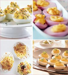 Stuffed & Deviled Eggs 4 Ways By Hostess With the Mostess