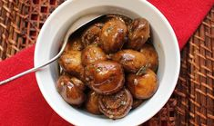 Marinated mushrooms make a great addition to any antipasto platter.