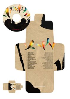 Rock-a-Mambo CD & Packaging by Fanny Piovarcsy, via Behance