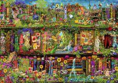 The Garden Shelf Digital Art by Aimee Stewart