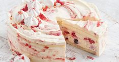 This gorgeous Eton mess cheesecake with a sweet berry swirl will keep you coming back for more.