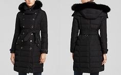Burberry Brit Allerdale Puffer Coat