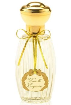 Vanille Exquise Annick Goutal for women - Very traditional vanilla scent, with notes of almond and powdered sugar. There's a musk that keeps it from going too far into sugar cookie land, but it's still too sweet for me.