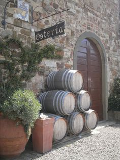Wine tasting in the Chianti in Tuscany