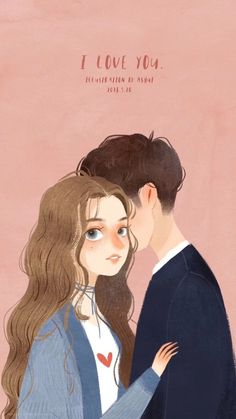 手绘+卡通+壁纸+iphone Cover Wattpad, Wattpad Cover Template, Love Wallpaper Backgrounds, Wallpapers, Wattpad Background, Chemistry Posters, Cute Couple Wallpaper, Cute Couple Art, Illustration Girl