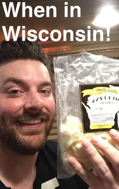 Chris Young smiling 'Cheese'
