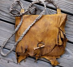 Primitive Rustic Mountain Man Possibles Bag of by misstudy on Etsy,