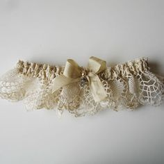 Handmade vintage wedding accessories