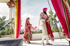 Outdoor Sikh Wedding Ceremony at Tampa Bay Museum of Art - 2 - Indian Wedding Site Home - Indian Wedding Site - Indian Wedding Vendors, Clothes, Invitations, and Pictures.