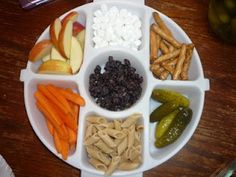 MONKEY PLATTERS for the kiddos (this is just a demo one)