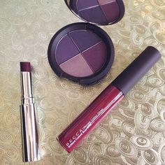 Deep purple shades for winter.