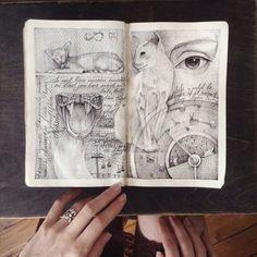 Ink, love, moleskine