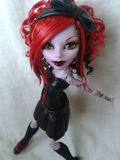 Monster High Operetta Custom by Red-Dog-Productions on deviantART