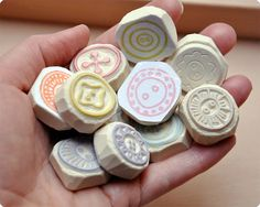 Special buttons rubber stamps | Flickr - Fotosharing!